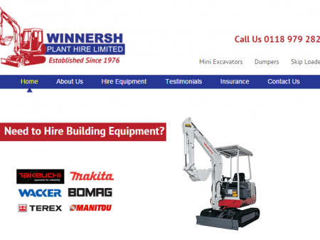 Winnersh Plant Hire